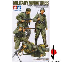 1/35 TAMIYA MILITARY MINIATURES GERMAN INFANTRY SET (FRENCH CAMPAIGN)
