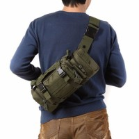 Tas Selempang Pria Sport Army 3 Way Sling Bag Man Waist - T2 Bag