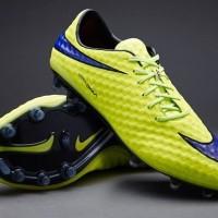 Sepatu Bola Nike Hypervenom Phantom FG Volt Violet Lava Blk