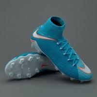 Sepatu Bola Nike Hypervenom Phatal III DF FG Polarized Blue