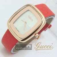 Jam Tangan Wanita Gucci Catur Kulit Leather Ladies Watch GCL07