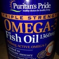 Puritans Pride Omega 3 Fish Oil