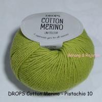 harga Drops Cotton Merino Hijau - Benang Rajut Import Wool Katun Wol Impor Tokopedia.com