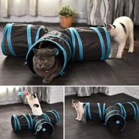 Cat tunnel mainan terowongan kasur kucing 3 arah