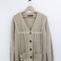 [LIMITED OFFER]Cardi Tumblr Cream-Sweater Rajut-Cardigan Winters