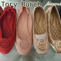 Terlaris sepatu flat import wanita TORY BURCH Quinn Quilted Bellerina