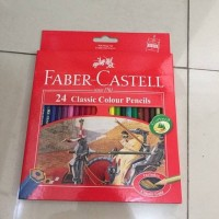 Jual Pensil Warna Faber Castle 24 Warna Murah
