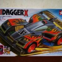 Tamiya Tridagger X Super One 1 Chassis Mini 4WD Let's Go Original