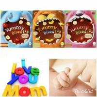 Jual Yummy Bites 123 50gr Makanan Biskuit Snack Bayi Baby Rice Crackers Murah