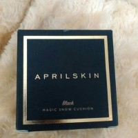 Jual APRIL SKIN MAGIC SNOW CUSHION MURAH BLACK / HITAM Murah