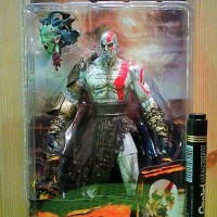 Sale Mainan action figure Kratos God of war In golden fleece armor