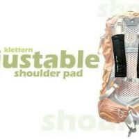 Shoulder Pad Klettern Adjustable Bag Busa pada Tas Caril