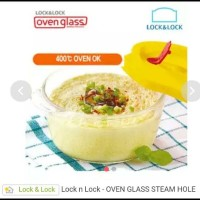 Lock & Lock Oven Glass with Steam Hole / Lock and Lock / Lock n Lock