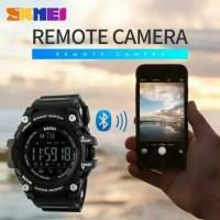 SKMEI jam tangan olahraga smartwatch DG 1227 BL