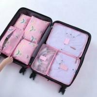 Jual Tas Travel Tas Organizer Bag In Bag Travelling 7 in 1 Murah