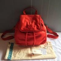 Tas Tory Burch Nylon Backpack Small Red Yy