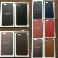 PREMIUM APPLE LEATHER CASE / COVER / CASING HP IPHONE 6 6S & 6 PLUS