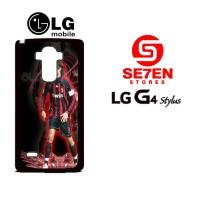 Casing HP LG G4 Stylus Paolo maldini 2 Custom Hardcase