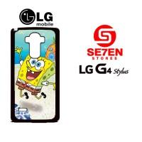 Casing HP LG G4 Stylus SpongeBob 2 Custom Hardcase