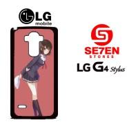 Casing HP LG G4 Stylus Saenai Heroine no Sodatekata Megumi Kato 2 Cust