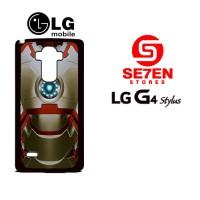 Casing HP LG G4 Stylus ironman 2 Custom Hardcase