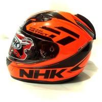 Harga helm nhk gp1000 special edition orange flou   Pembandingharga.com