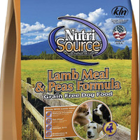 nutrisource grain free lamb dog food 13kg
