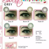 PROMO Softlens Sweet Tutty Fruity Grey Softlense