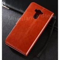 MURAH  Leather Flip Cover Wallet Xiaomi Redmi 4 Prime Pro Dompet