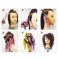 Penggeriting Rambut Magic Leverag Curlers