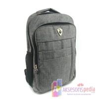 Tas Ransel Backpack Kanvas Model Terbaru (TF-0017)