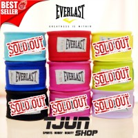 Handwrap Everlast Muay Thai Boxing sepasang 3 meter ( simple pack )