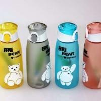 Jual Botol minum karakter Big Bear 500ml / big bear water bottle B28  Murah