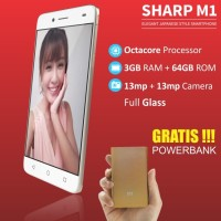 Smartphone SHARP M1 GRATIS POWERBANK