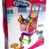 Shopping Cart Trolley - Kado Mainan Anak Keranjang Belanja Troly