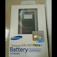 Original 100% Battery Batere Batre Baterai Samsung Galaxy Note4 Note 4