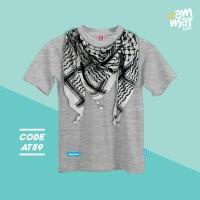 Kaos Anak model Baju Muslim anak Laki umur 9 tahun - 12 tahun XL - XXL