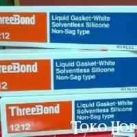 Threebond 1212 Liquid Gasket White Solventless Silicone Non Sag Type