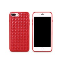 Remax Creative Case For Iphone 7 Plus Weave Series Red
