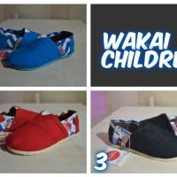 Sepatu Wakai Slip On Anak Kids . Sepatu Anak Wakai Murah . Gocap Store