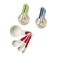 1Set Sendok Takar Dapur 4 Ukuran IKEA STAM Measuring Spoons Cups