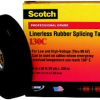 3M Scotch Linerless Rubber Splicing Tape 130C