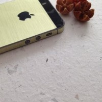 Sticker Gold For Iphone 4 | S Or Iphone 5 | S Alf35
