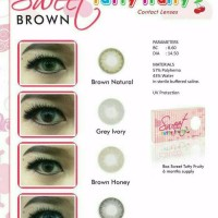 PROMO Softlens Sweet Tutty Fruity Brown Softlense