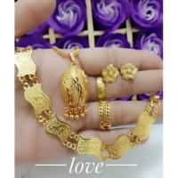 Jual xuping Set perhiasan lapis emas 24k Murah