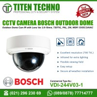 BOSCH CCTV CAMERA OUTDOOR DOME VDI-244V03-1