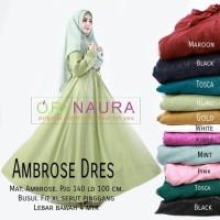 Gamis Dress Ambrose Ori Naura