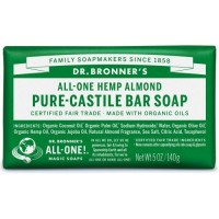 Dr Bronner's Pure-castile Bar Soap - Almond