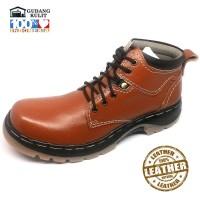 Sepatu Boots Kulit Sapi Asli Pengrajin Sukaregang Garut