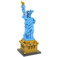 LOZ 9387 Architecture Nano Nanoblock Statue Of Liberty